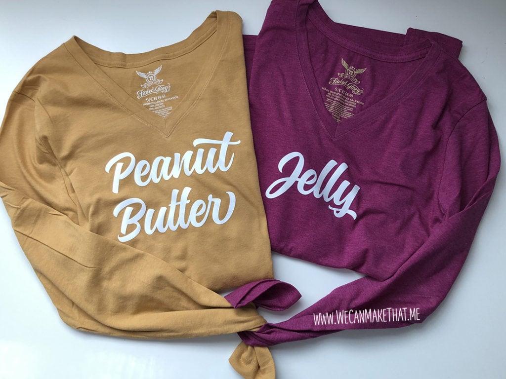 Peanut Butter & Jelly Costume