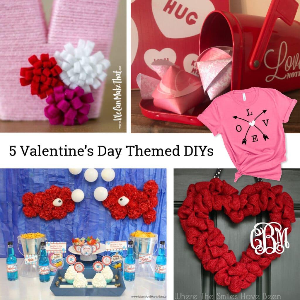 Valentine's Day Themed DIYs