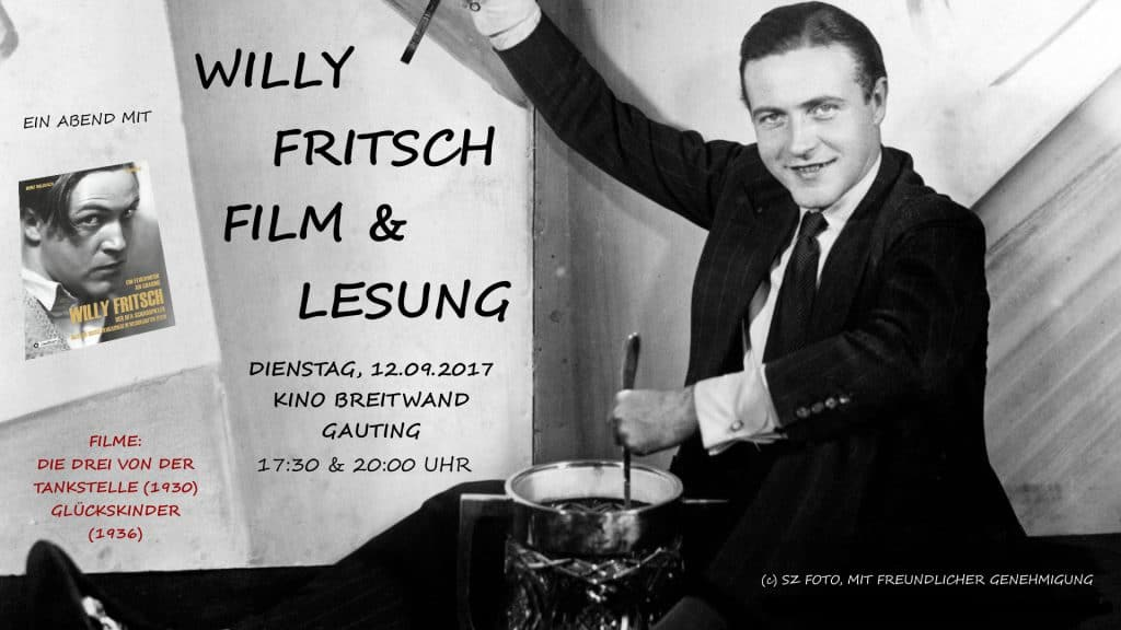 Lesung Willy Fritsch München