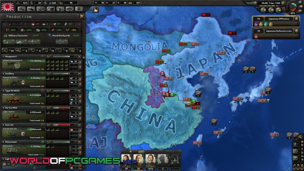 Hearts Of Iron IV Free Download For Mac OS Game By Worldofpcgames.com