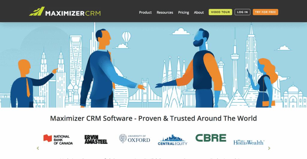 maximizer crm system