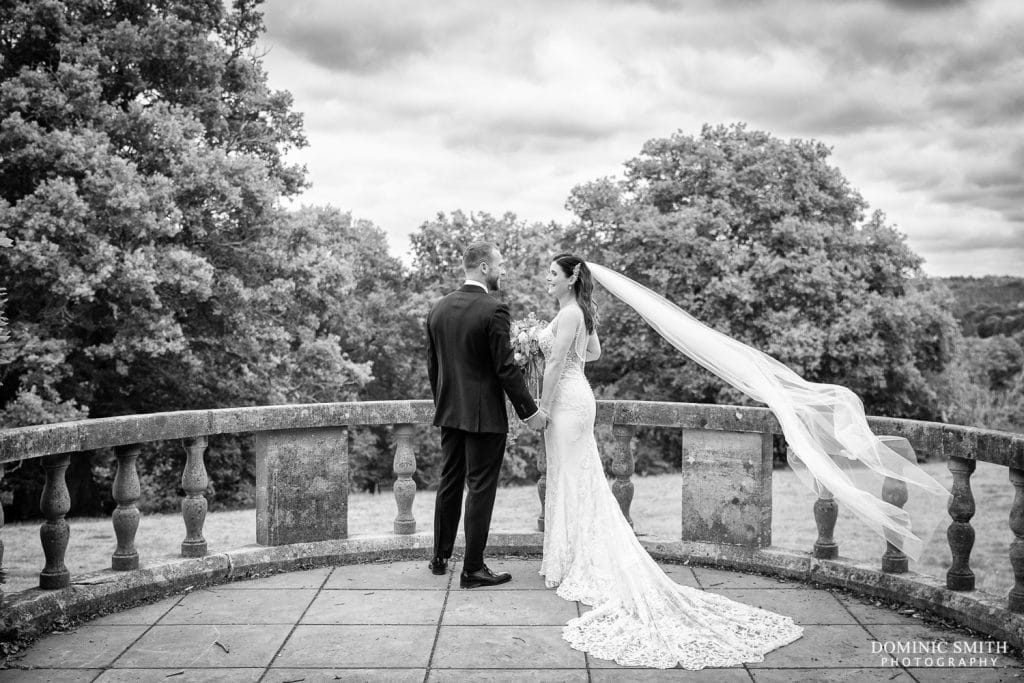 Couple Photo at a Nymans Wedding 1