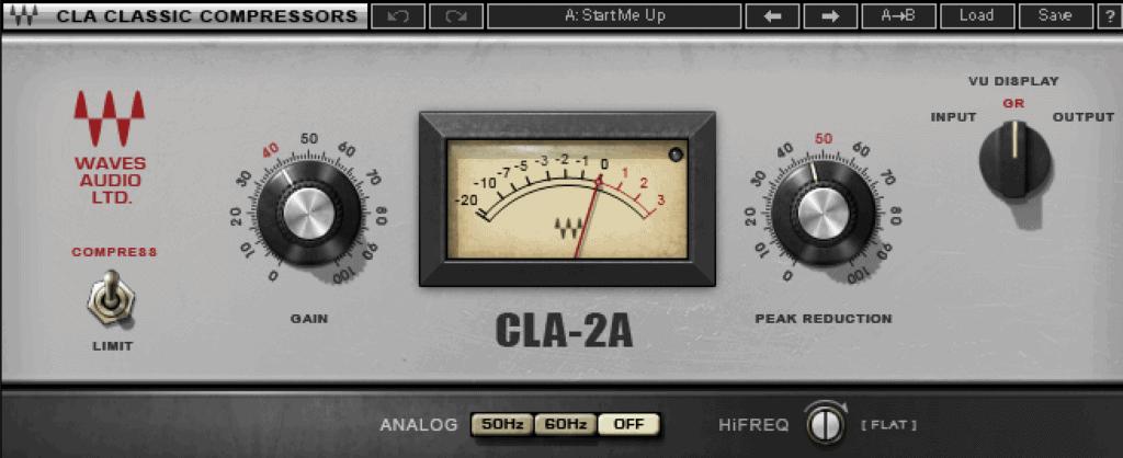Waves CLA-2A Plugin