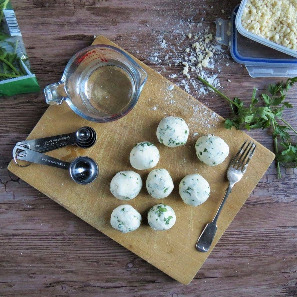 Beef Stew and Gluten Free Dumplings made with Easy Homemade Gluten Free Suet