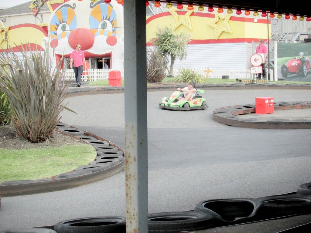 Butlins Review - Go Karts