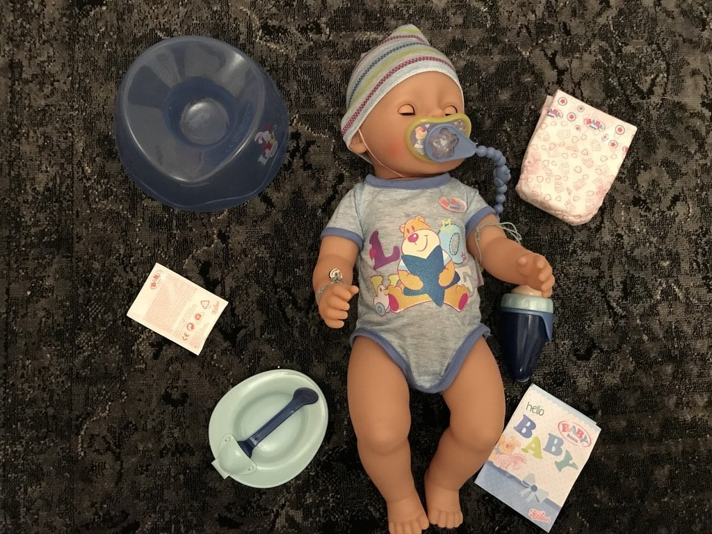 Baby Born Interactive Boy Doll
