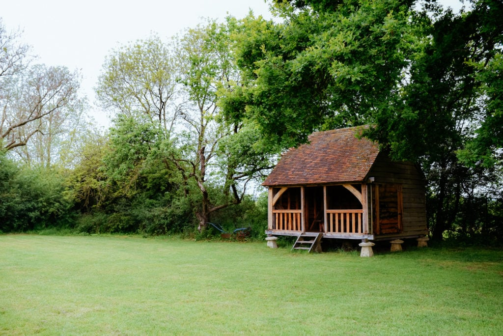 outdoor wedding venue surrey