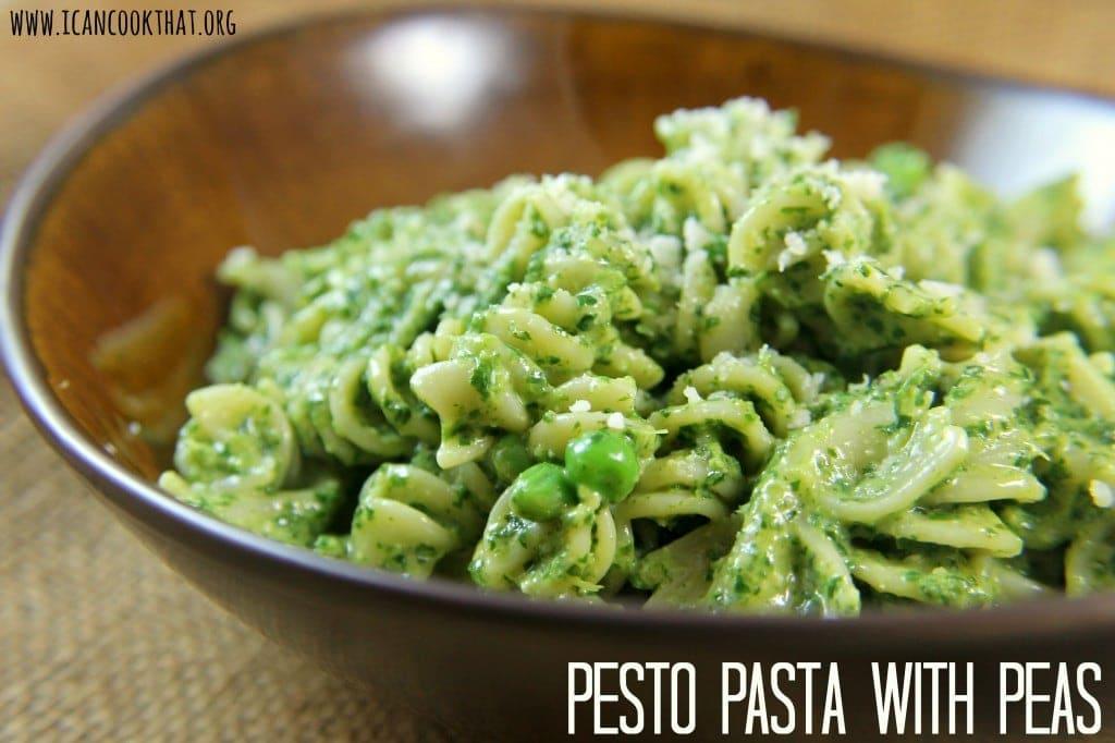 Pesto Pasta with Peas