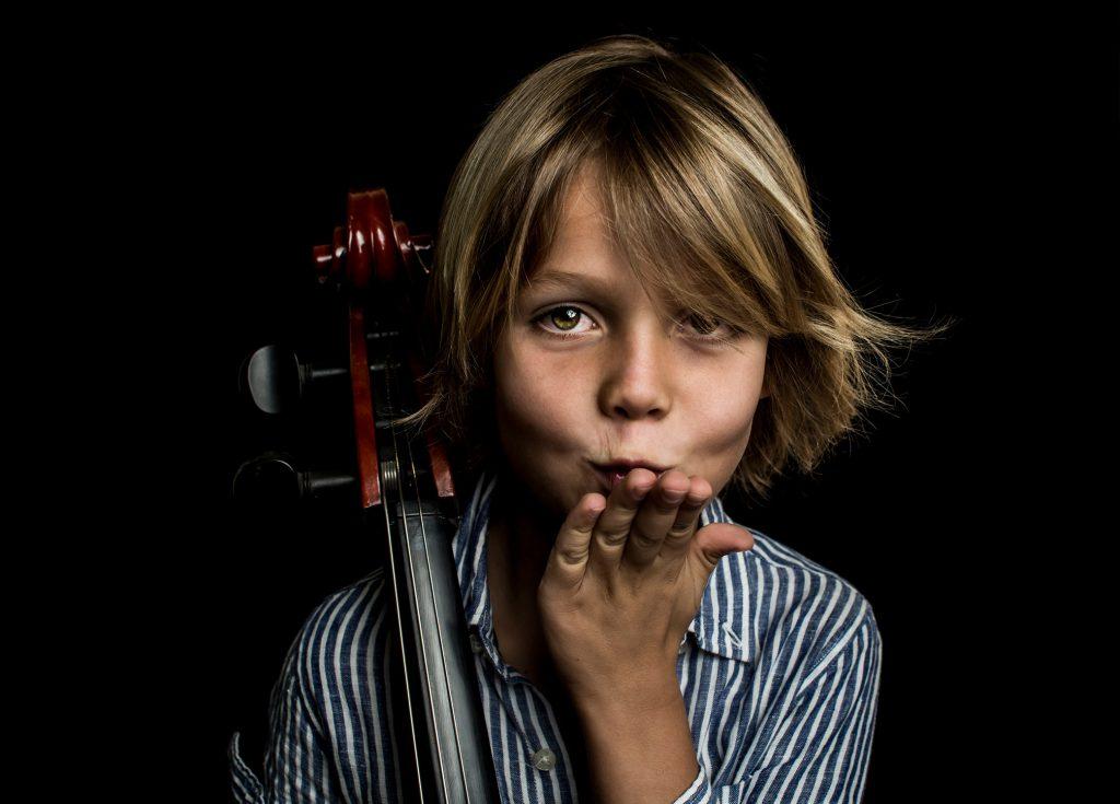 Fotógrafo de músicos Mallorca cellista