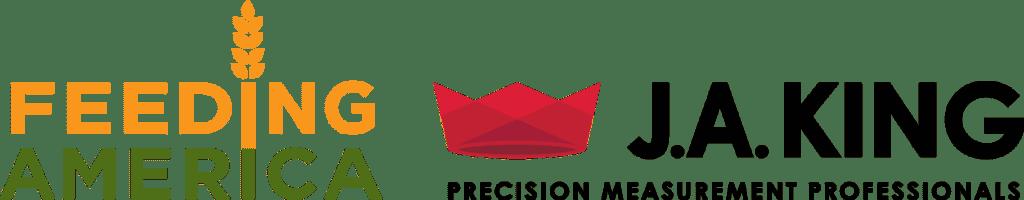 Feeding America Logo - J.A. King
