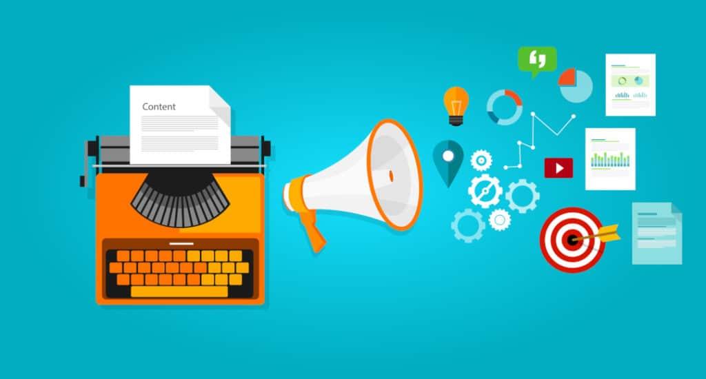 Marketing de conteúdo com divulgação de conteúdo para BLOG