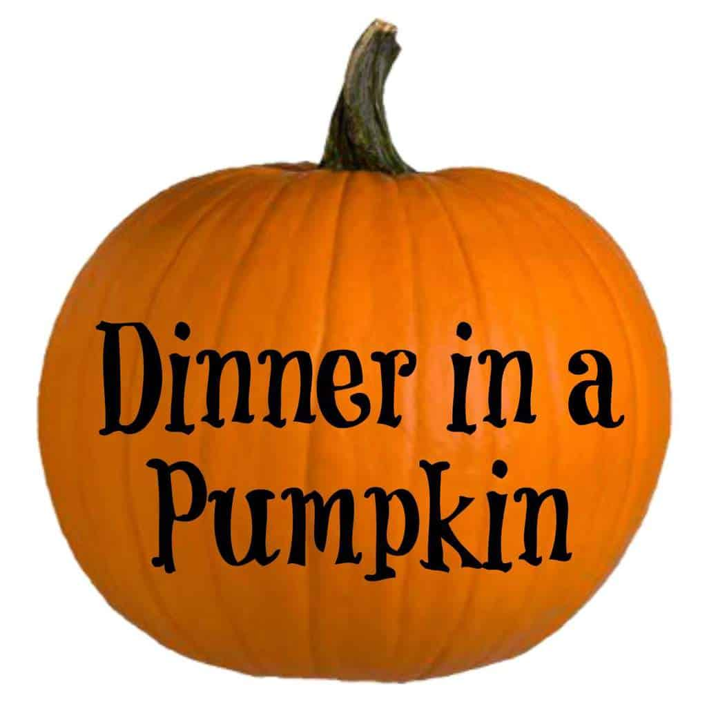 Dinner in a Pumpkin is a 25 year fall and Halloween tradition for our family. It's an all in one meal that we can't get enough of. Why not start a new family tradition today?