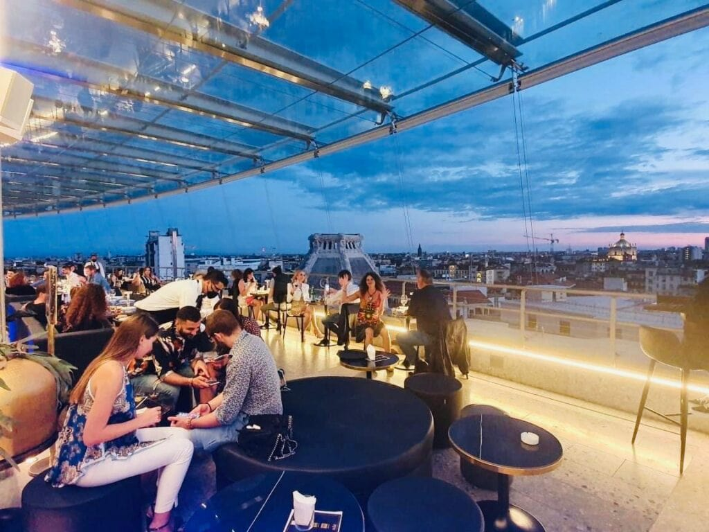 The Roof Milano Terrazza Cavalieri