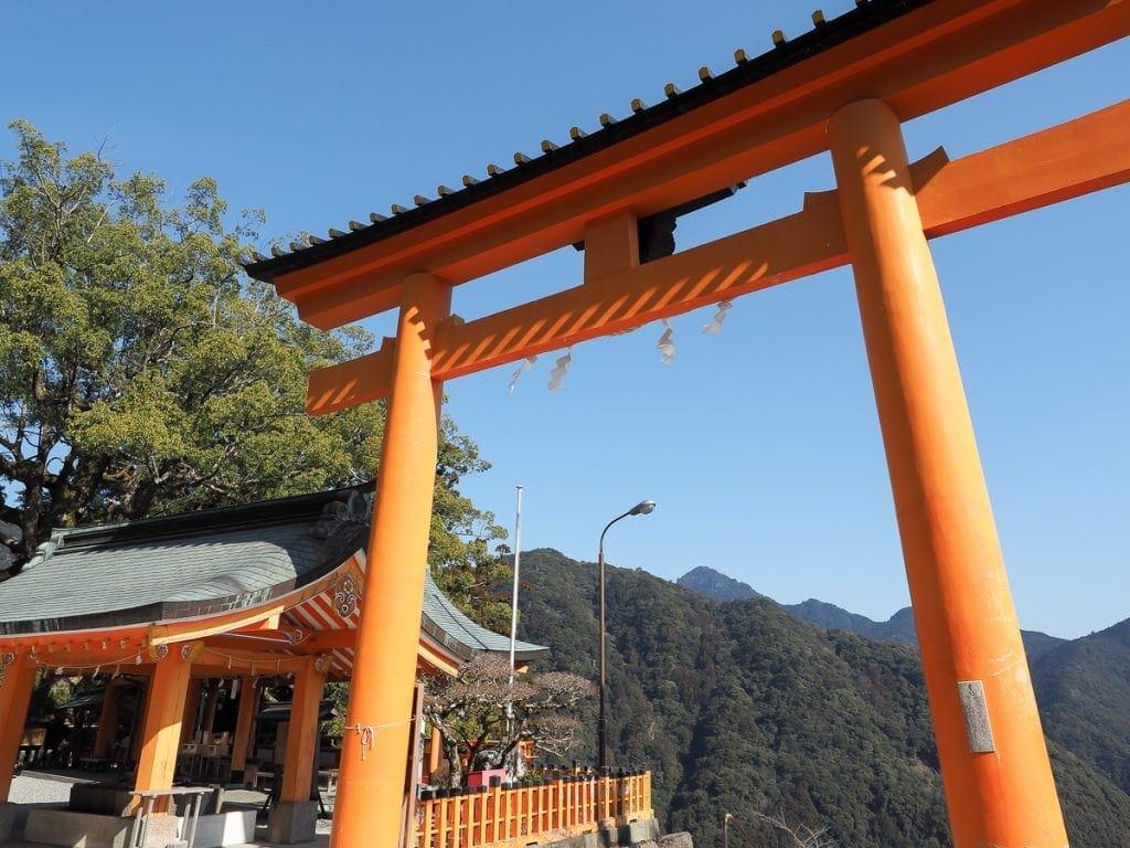 Kumano Nachi Taisha view