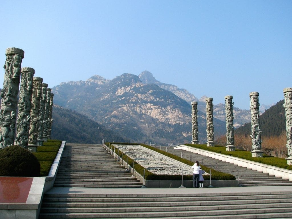 Starting point of the hike to Tai Shan. This is how to get to Taishan