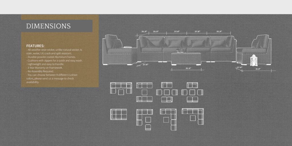 How to Arrange Patio Furniture Source: Modenzi