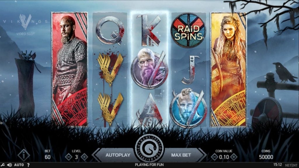 vikings desktop screenshot video slot netent