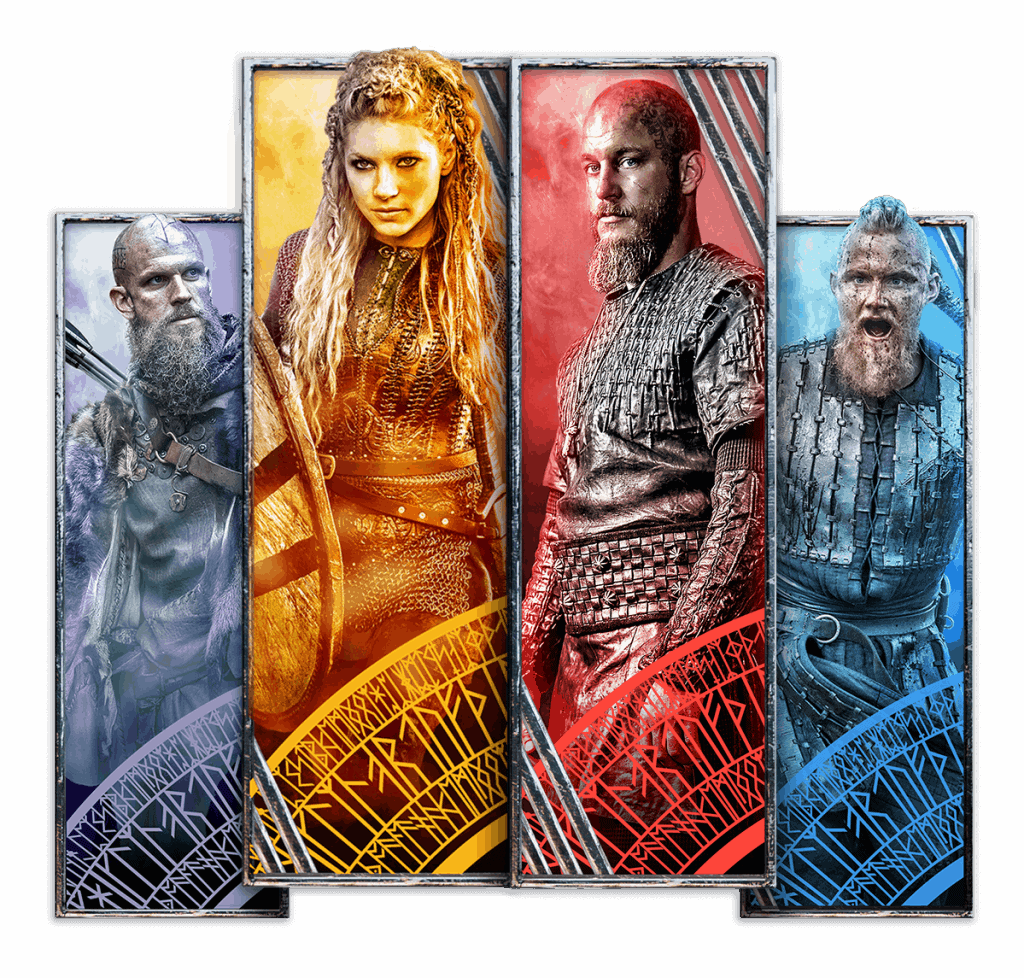 vikings characters video slot netent