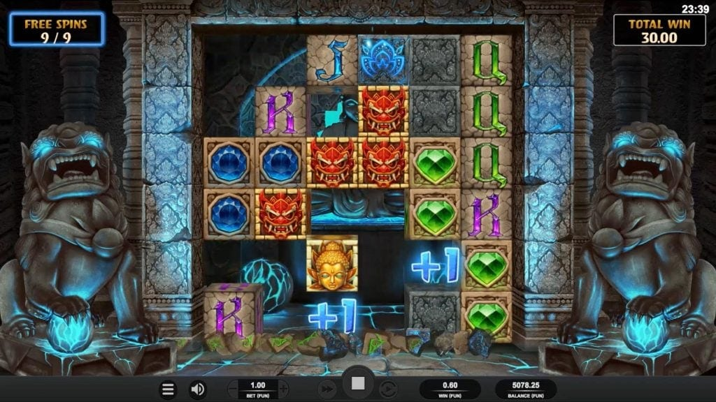 temple tumble game screenshot video slot relax gaming