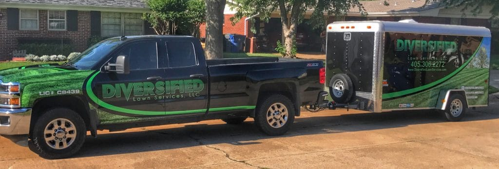 Lawn Care Truck Wraps - Diversified