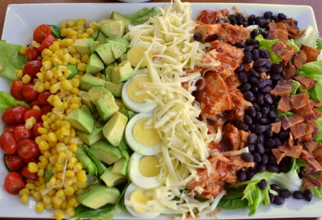 Barbecue Chicken Cobb Salad (5)
