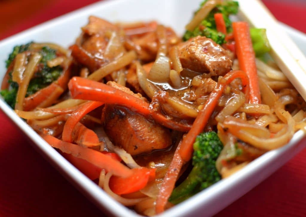 Chili Sauce Chicken Stir Fry (2)