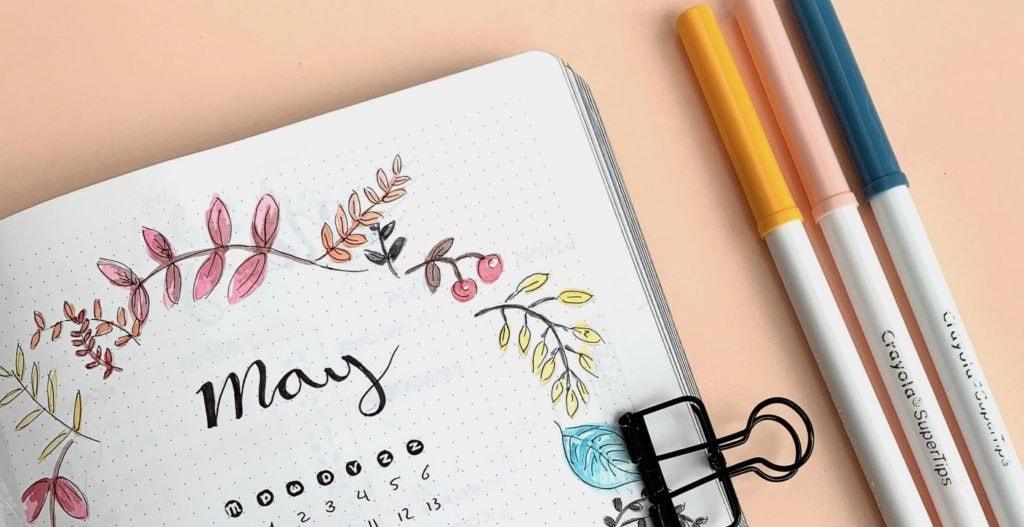 Kalligraferen in je bullet journal