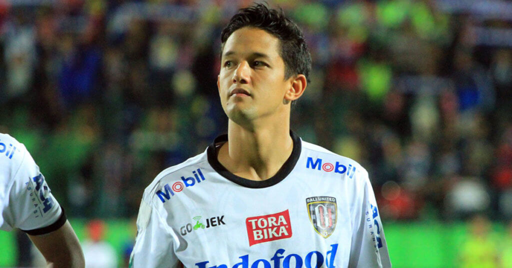 Indonesian professional football player irfan Bachdim