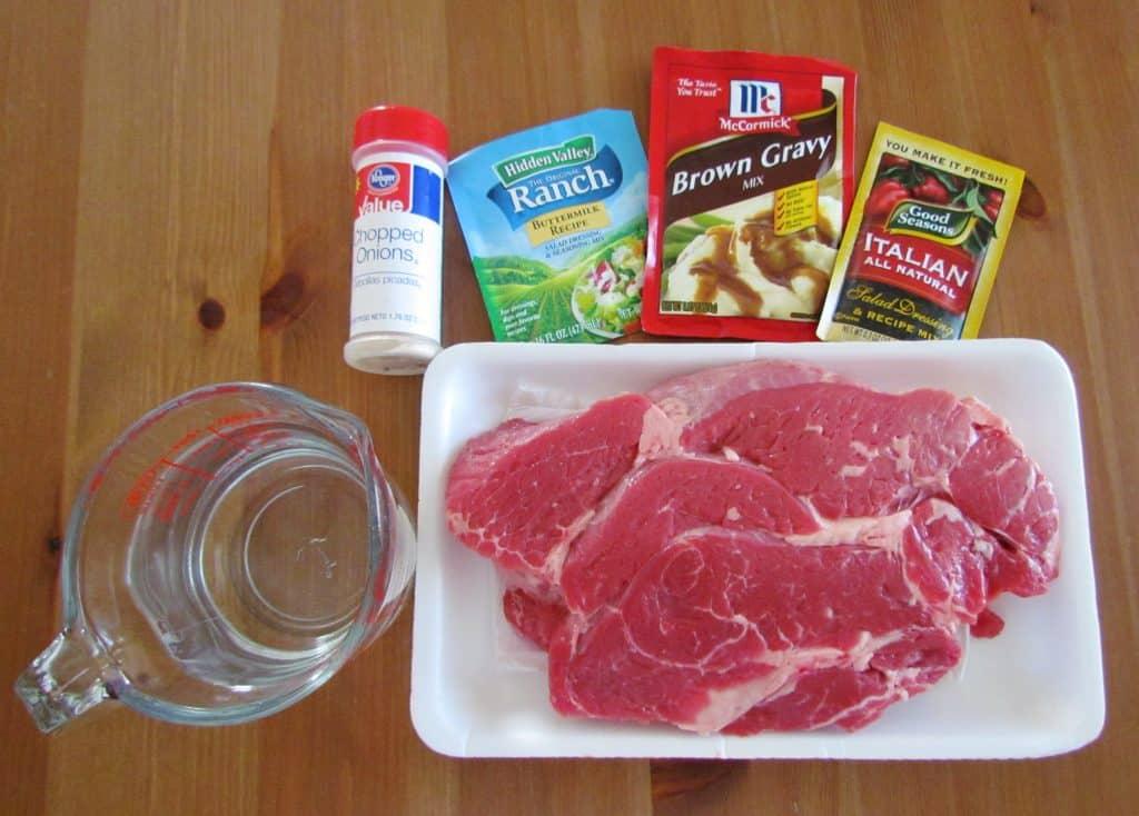 3-Packet Slow Cooker Pot Roast