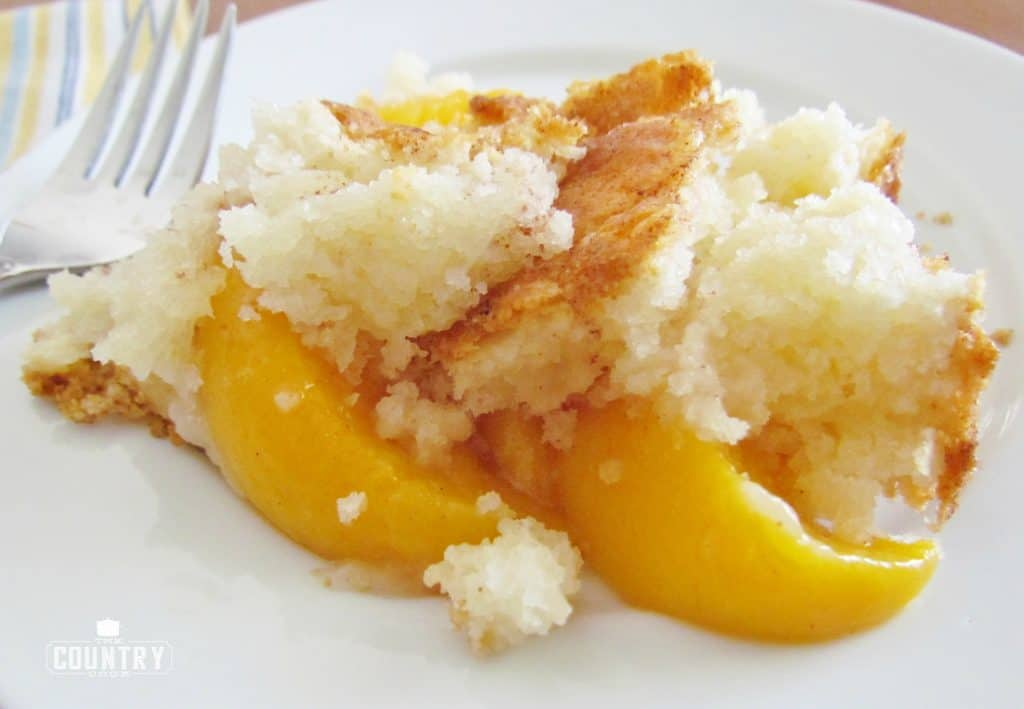 Country Peach Cobbler recipe