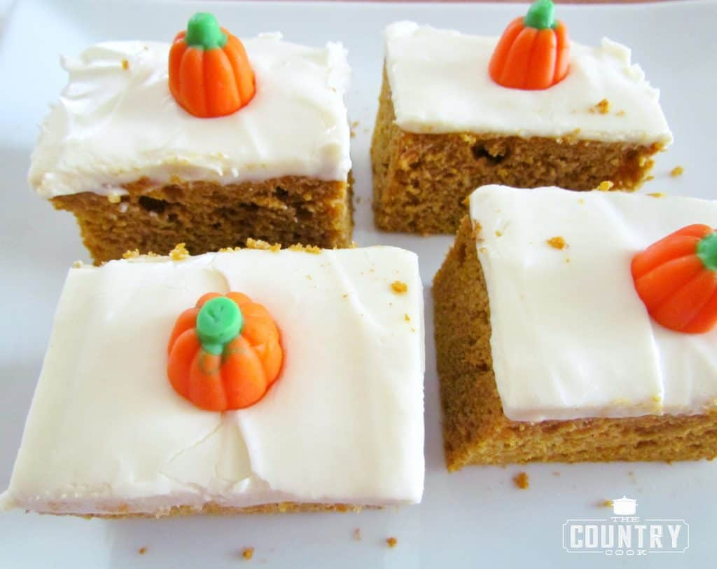 Pumpkin Spice Cake Mix with Cream Cheese Frosting