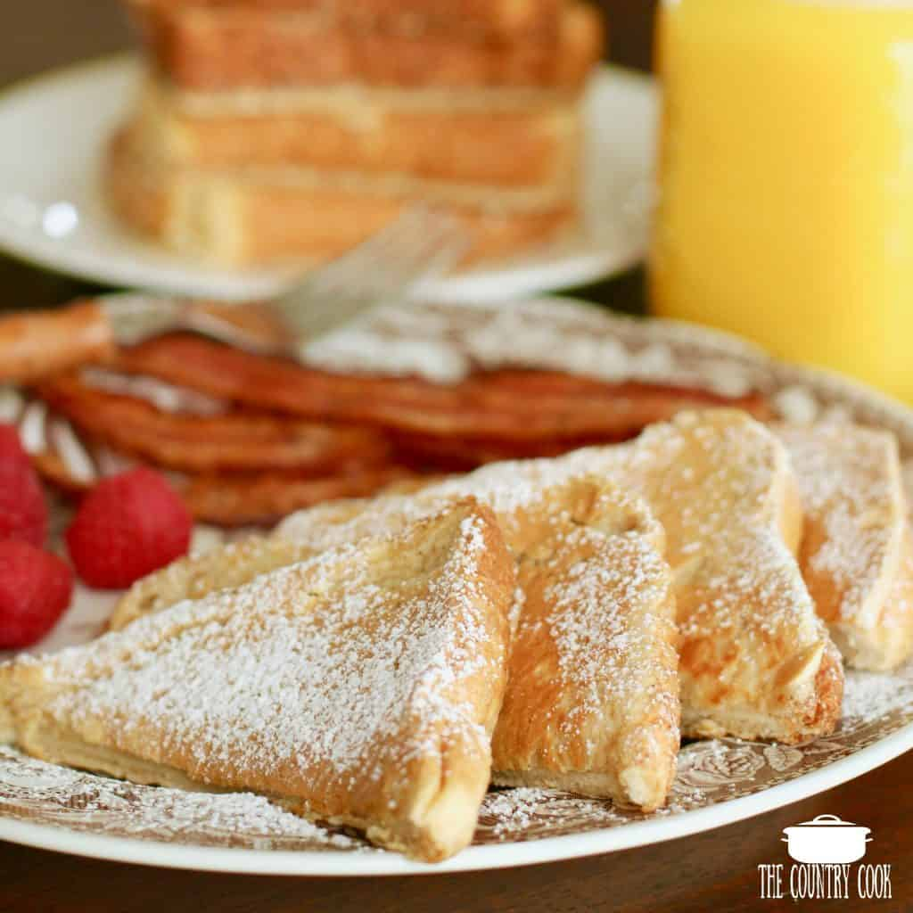 Pancake coated French Toast