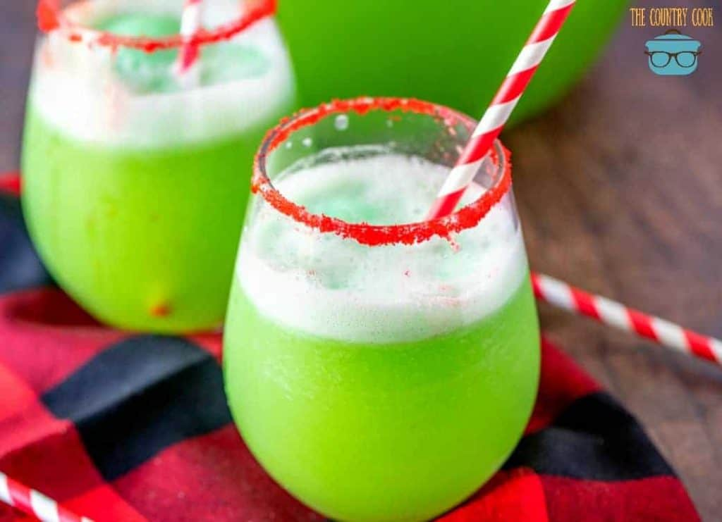 Christmas Grinch Punch recipe