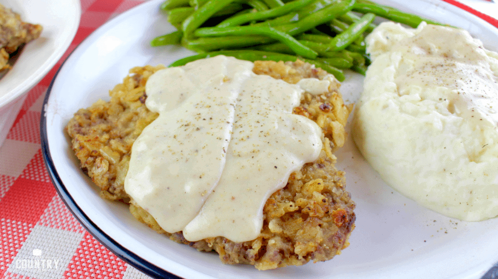 Chicken Fried Steaks With Sawmill Gravy