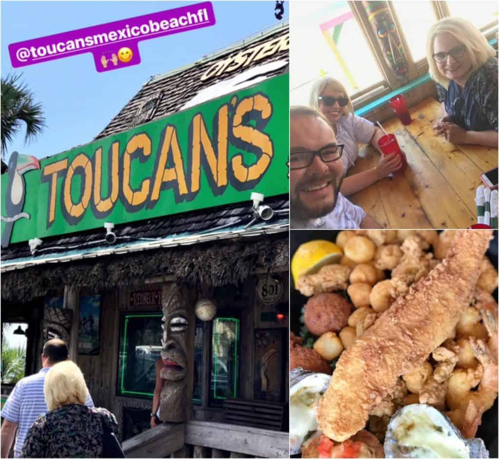 Toucan's restaurant, Mexico Beach, Florida