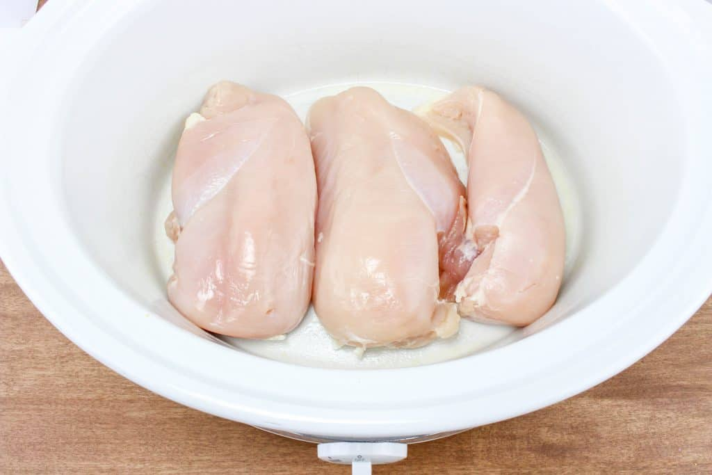 chicken breasts in slow cooker
