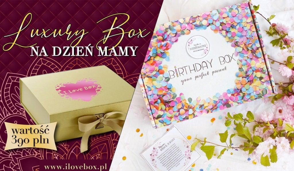 pomysł na prezent na dzień mamy - beauty box