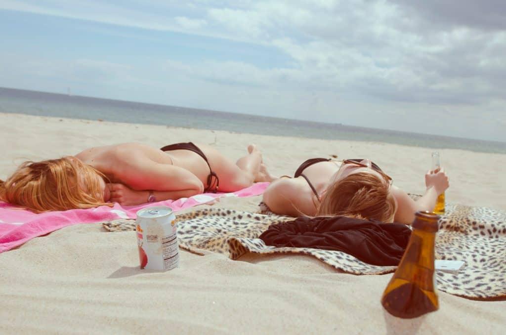 Sunburn beach