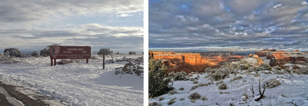 Canyonlands in Winter