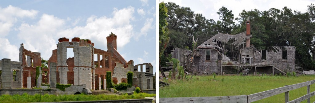 Cumberland Island Dungeness Ruins where Thomas Carnegie and his wife use to reside.