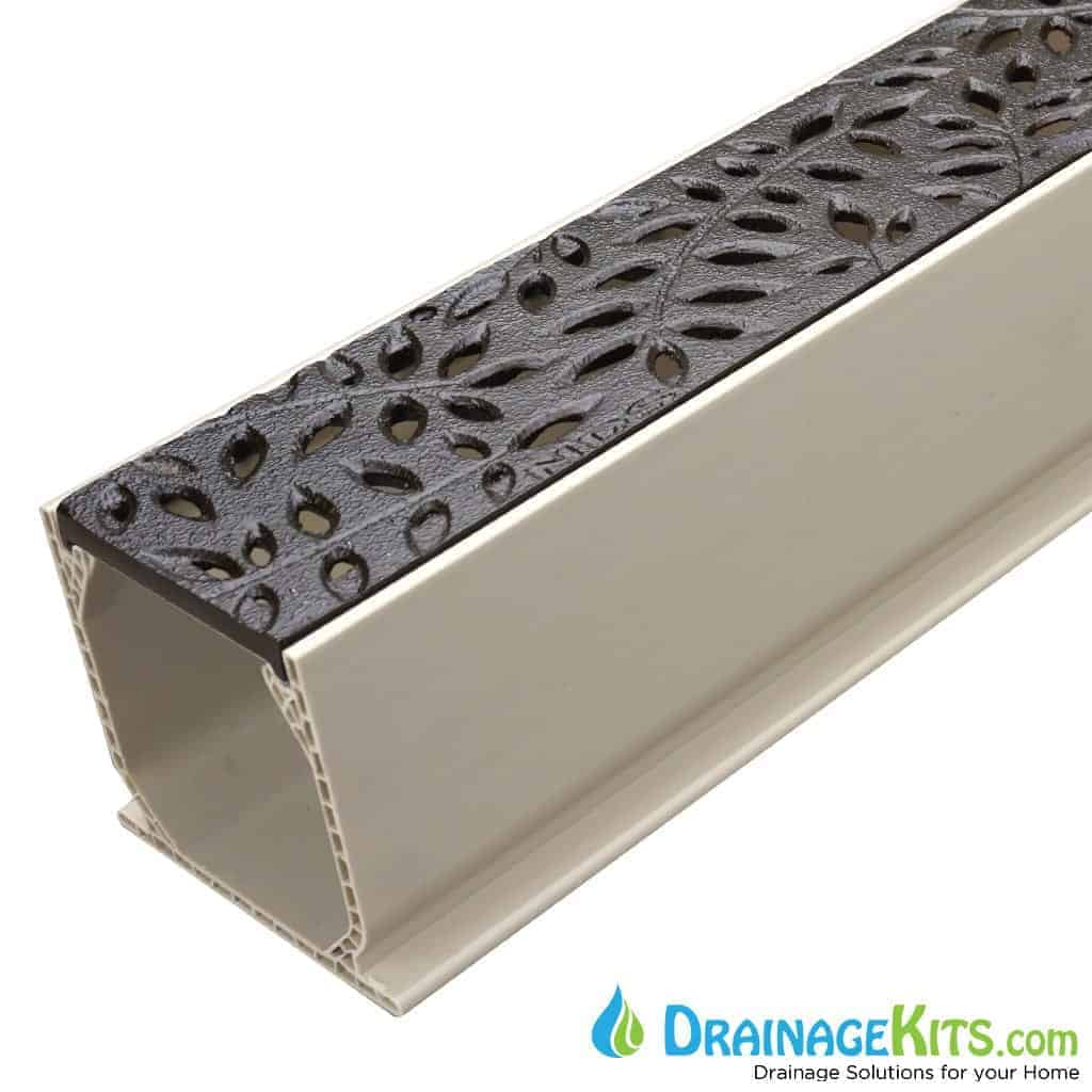 MCKS-554CI-BF boof baked on oil finish botanical cast iron grate tds sand channel