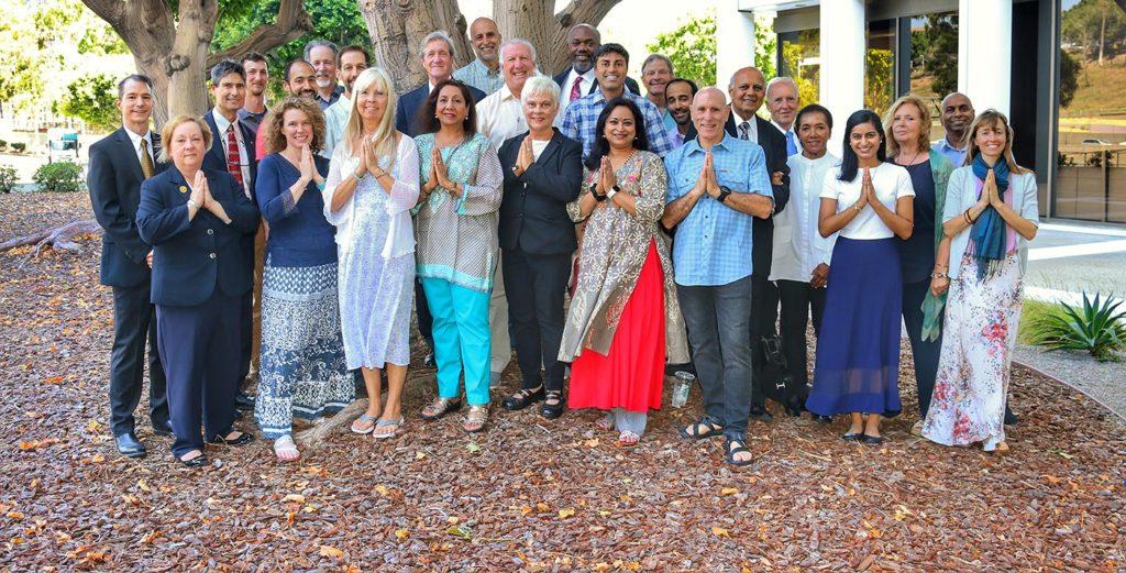 Yogananda Seva volunteers