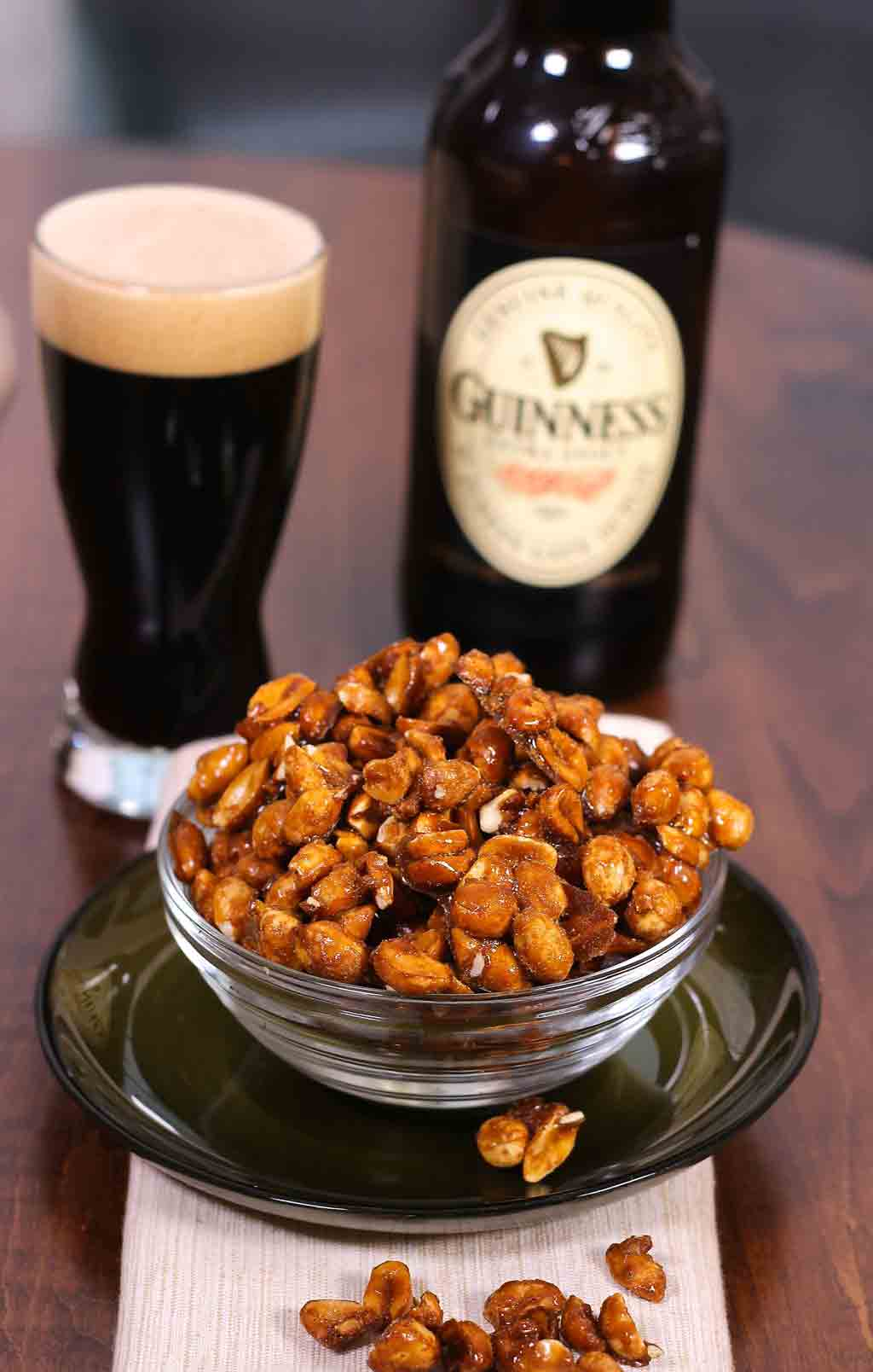 Promo image for Guinness Glazed Nuts recipe