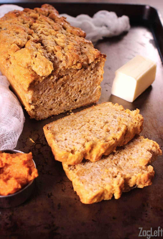 Promo image for Pumpkin Sage Beer Bread recipe