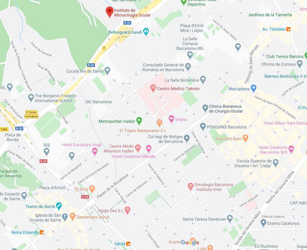 مستشفى ايمو للعيون - مركز ايمو للعيون اسبانيا - مركز imo لطب العيون - افضل مستشفى عيون في اسبانيا - معهد imo في اسبانيا - برشلونة اسبانيا