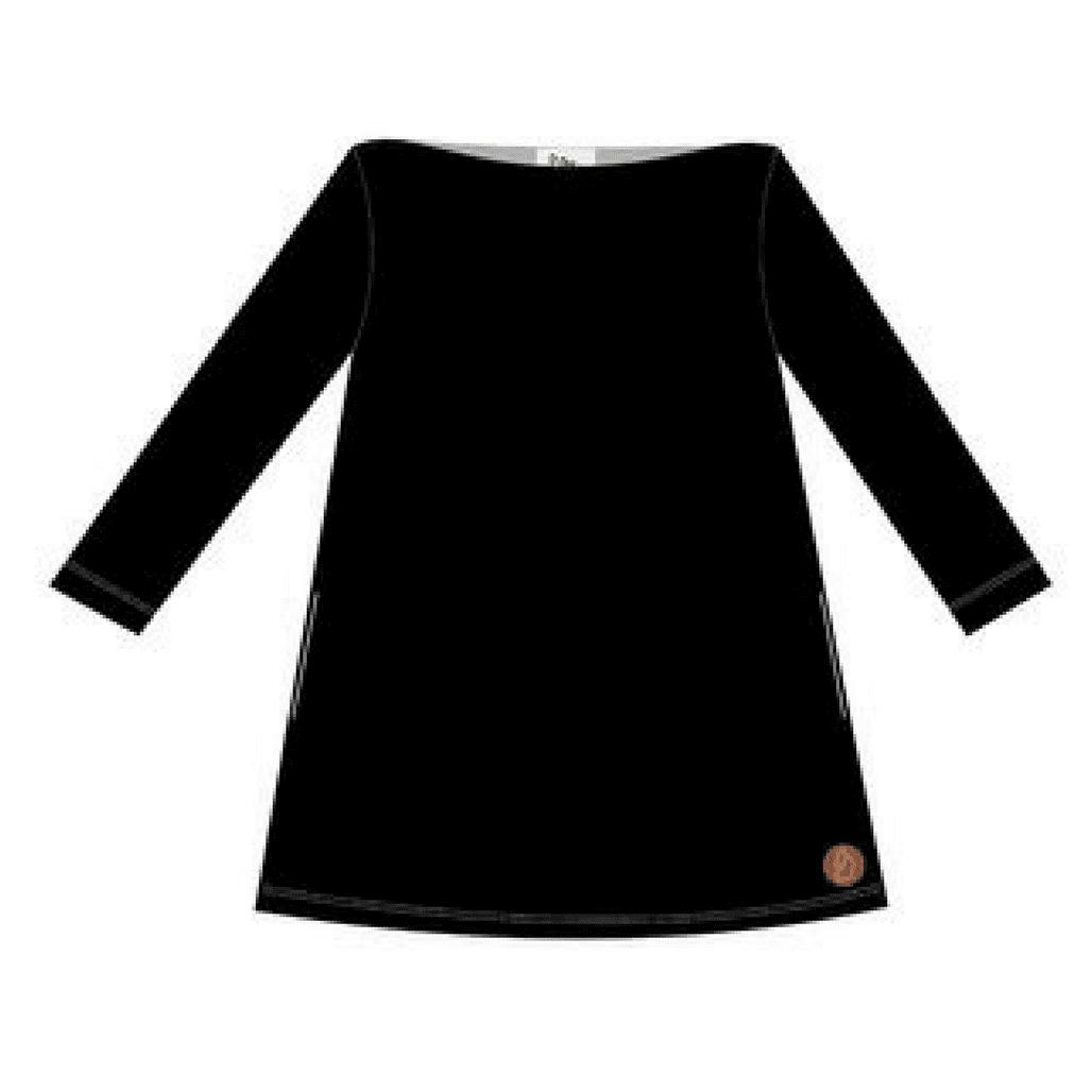 Salla Frauen Kleid schwarz von Blaa bei Kleidermarie.de