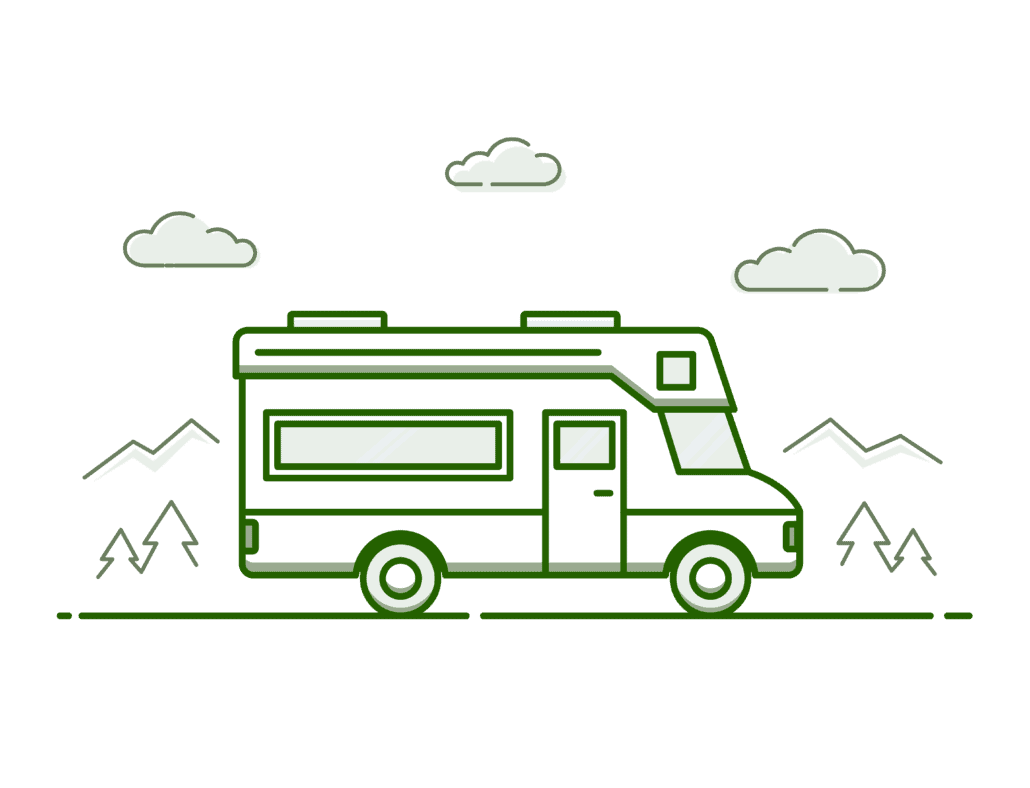 RV graphic illustration