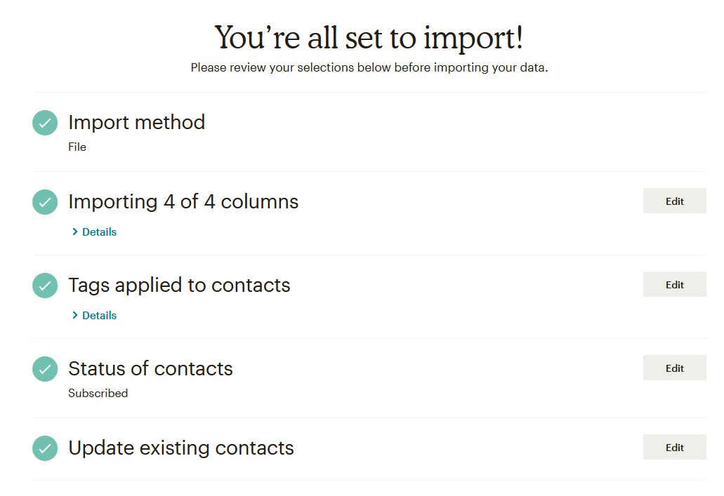 How To Import Contacts Into MailChimp_9