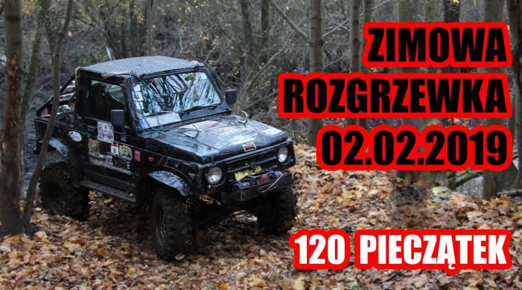 Zimowa rozgrzewka - USTKA 4X4 OFFROAD - rajd 2019