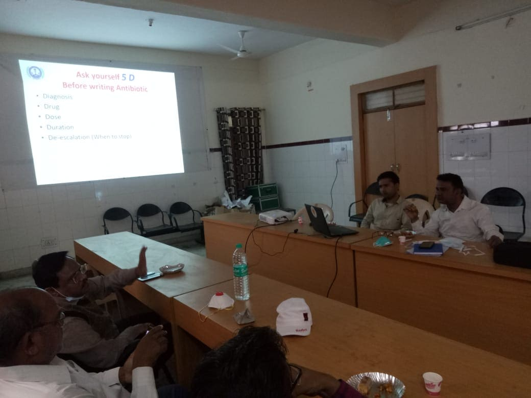 Antibiotic awareness workshop organized in district hospital